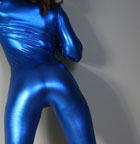 Hot Fetish Babe In Tight Blue - Picture 2