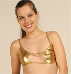 A Babe In Gold Liquid Metal - Picture 1