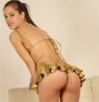A Babe In Gold Liquid Metal - Picture 3