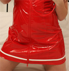 Red Vinyl Nurse To Take Care Of Your Needs - Picture 1